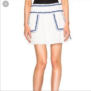 Isabel Marant Etoile Vittoria mini skirt sz 40